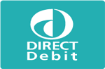 We Accept Payments By Direct Debit